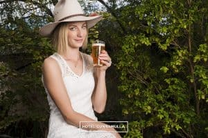 The Cunnamulla Sheila - Hotel Cunnamulla's own mid strength ice cold beer
