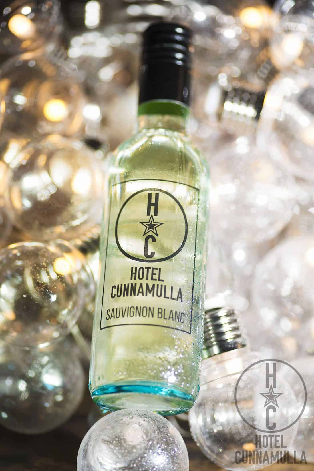 Hotel Cunnamulla's very own wine, a Sauvignon Blanc, ice cold and crisp flavoured, perfect company with any of our meals in the restaurant or licensed cafe.