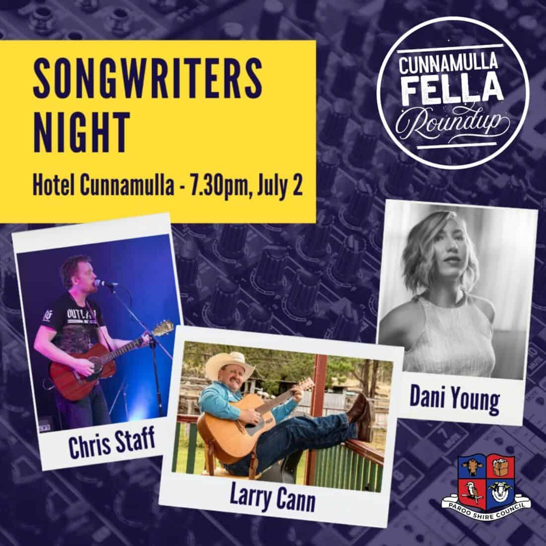 Hotel Cunnamulla Music Cunnamulla Fella Roundup