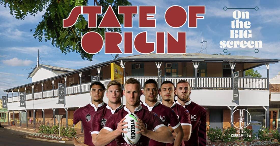 State of Origin Big Screen TV