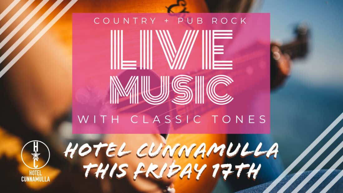 Cunnamulla Food, Entertainment Live Country Music
